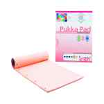 Image for 6 x Pukka Pad A4 Refill Pad Rose (100 pages of 80gsm paper) IRLEN50