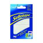 Image for Sellotape Sticky Fixers Permanent 12x25mm (Pack of 56) 1445423