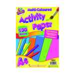 Image for Art Box Activity Paper 100 Sheet A4 Assorted (Pack of 6) TAL05044