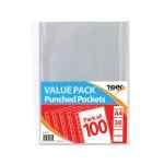 Image for A4 Punched Pockets 30 Micron (Pack of 1000) 301601