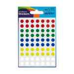 Image for Avery Packet of Labels Colour Coding Diam.8mm Assorted Ref 32-291 [560 Labels]