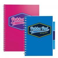 Pukka Vision Wirebound Jotta Pad A5 Pink Pack of 3 8615-VIS
