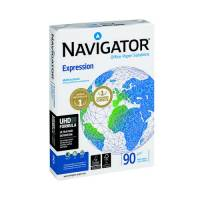 Navigator Expression Paper Ream-Wrapped 90gsm A4 White Ref NEX0900024 500 Sheets
