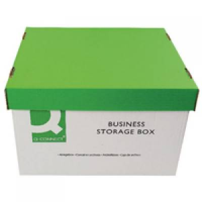 10 x STRONG Archive Storage Boxes with lid /& handle for A4//Foolscap files AS9339
