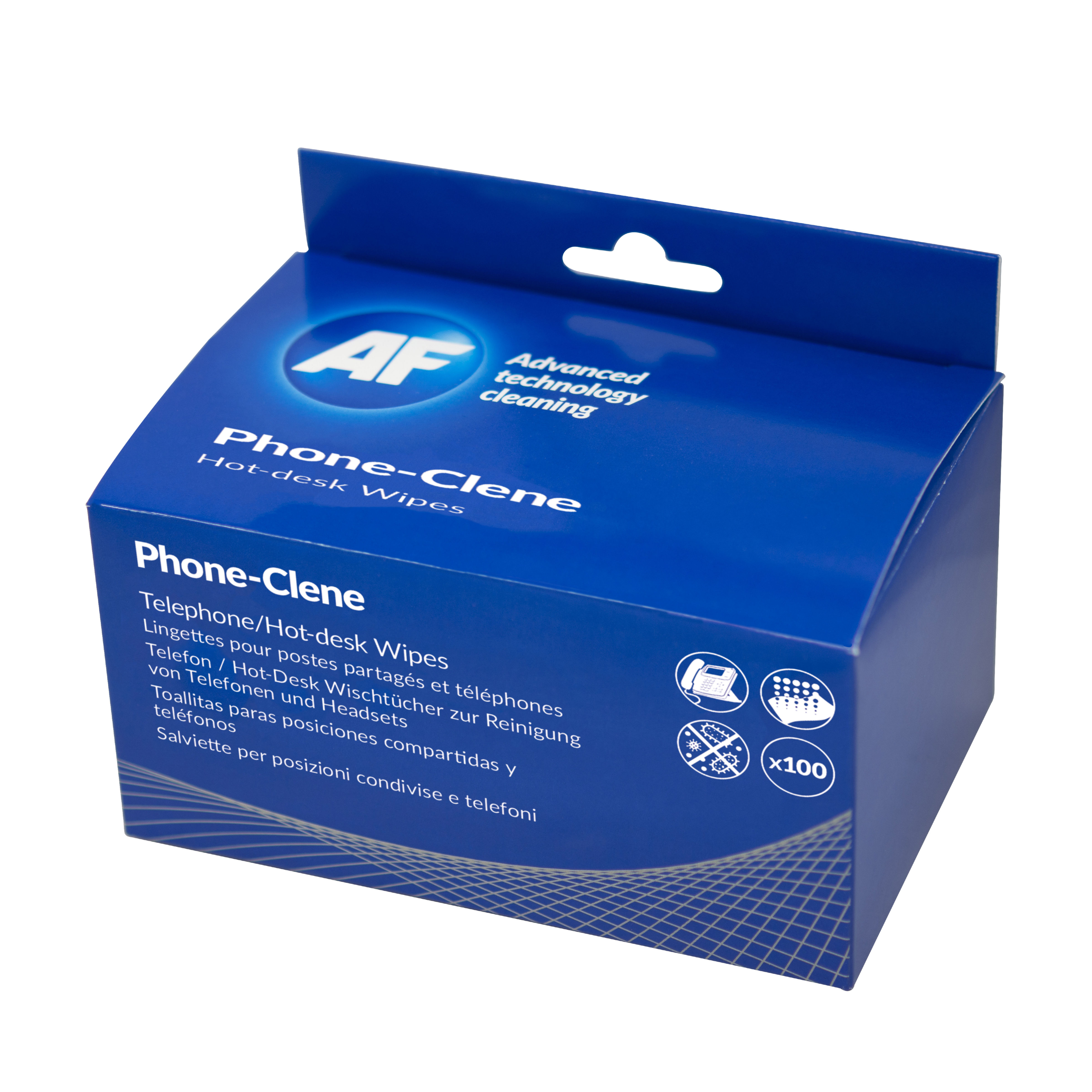 Af Phone Clene Wipes Sachet Pack 100