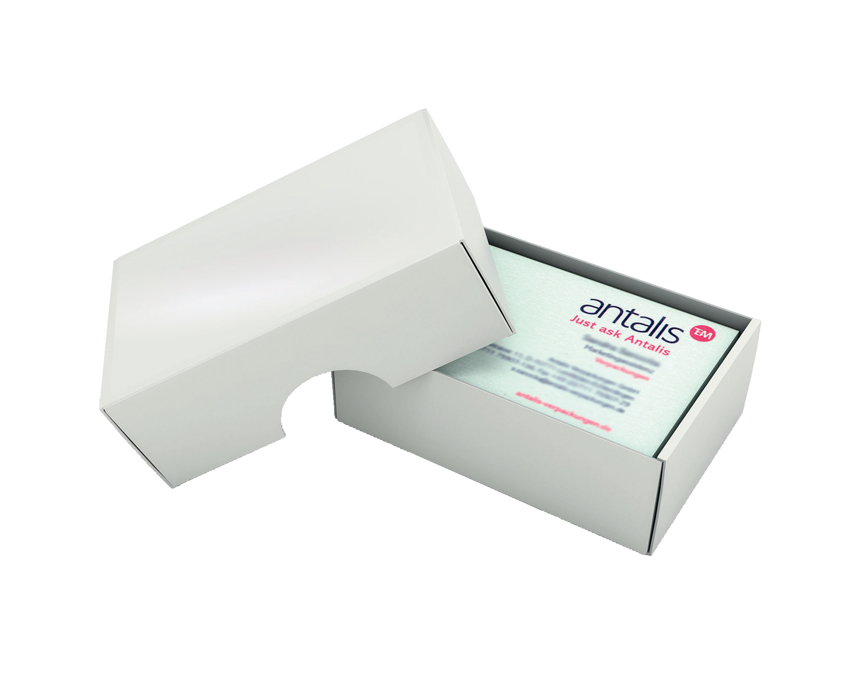 Business Card Box & Lid Small 97 x 62 x 36mm Plastic Base/Lid Pack ...