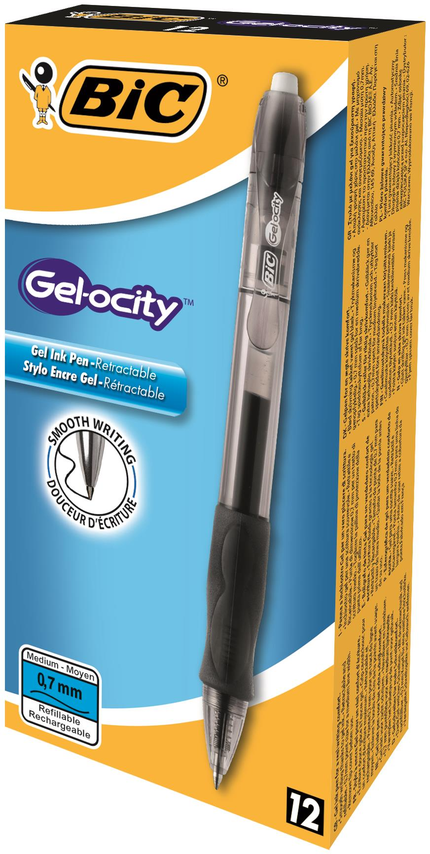 Bic Gelocity Pens
