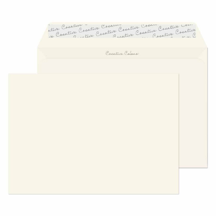 Blake Creative Colour Milk White L Seal Wallet 162x229mm 120gsm Pack 500 Code 351