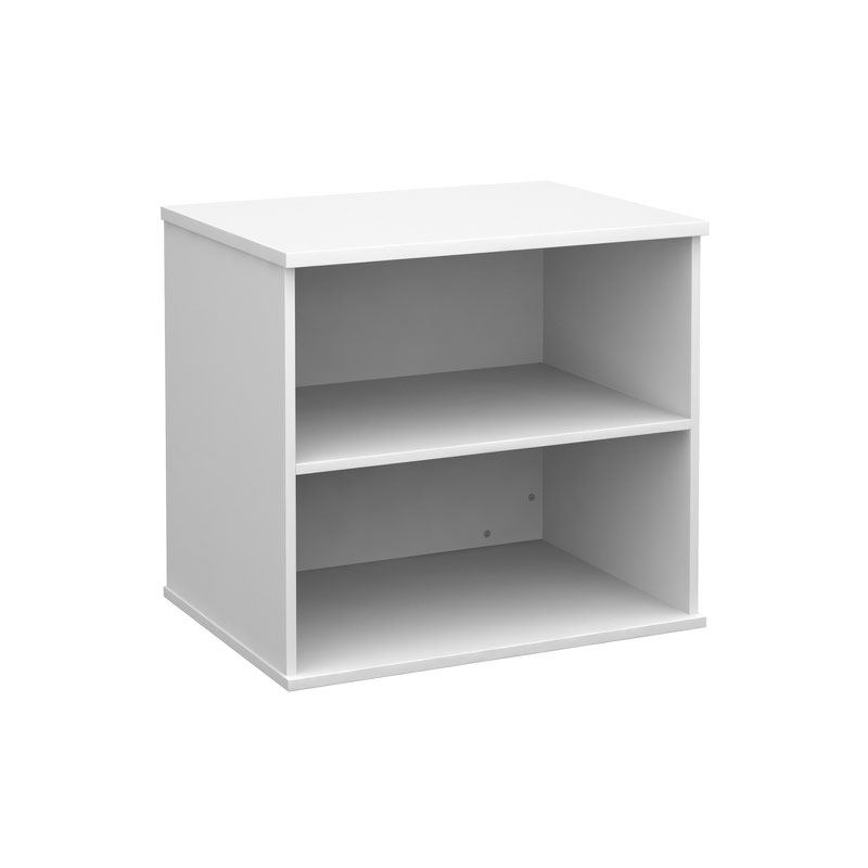 white office bookcase. Deluxe Desk High Bookcase 600mm Deep - White Office