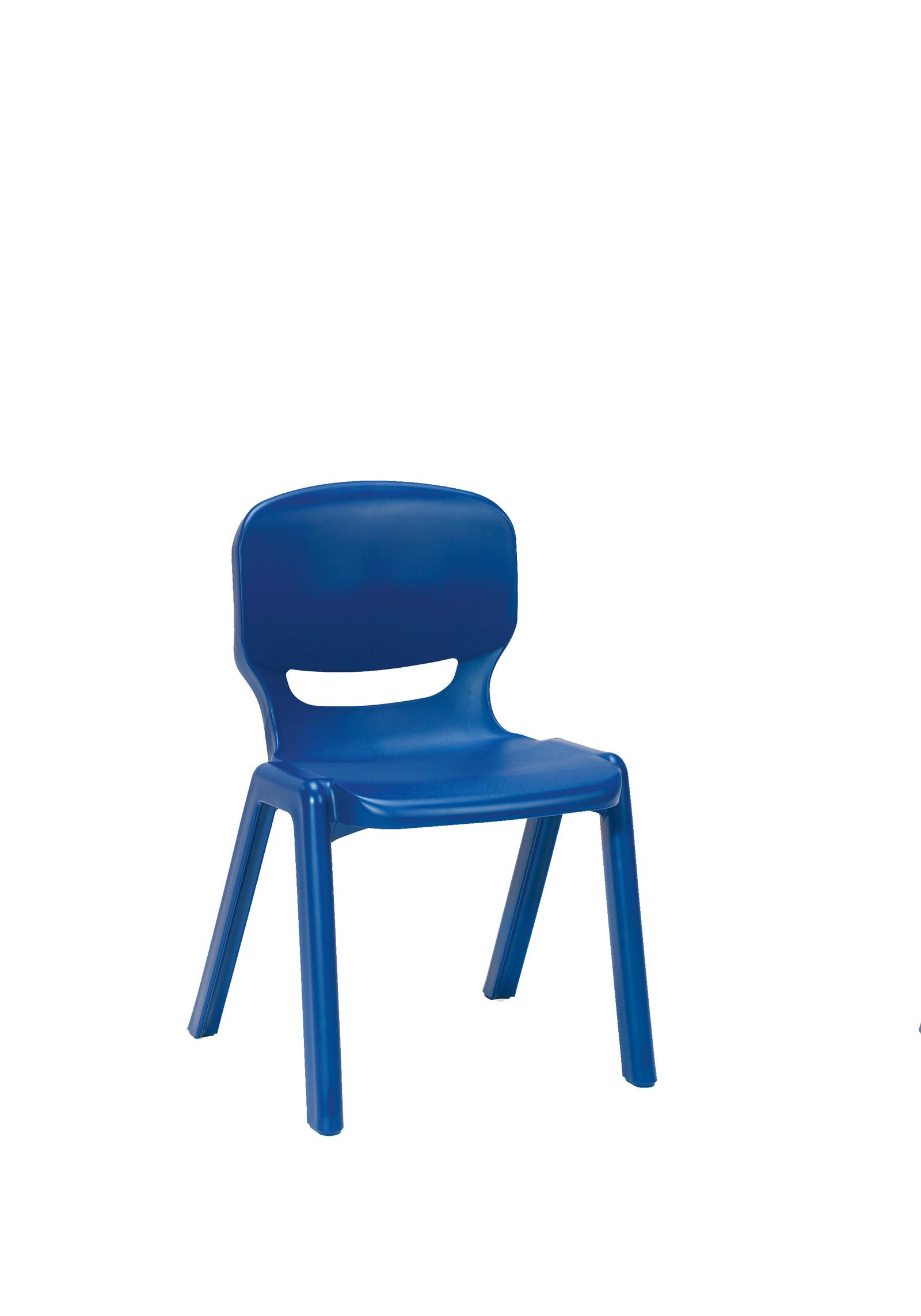 Ergos Versatile e Piece Educational Chair For Nursery Age Blue