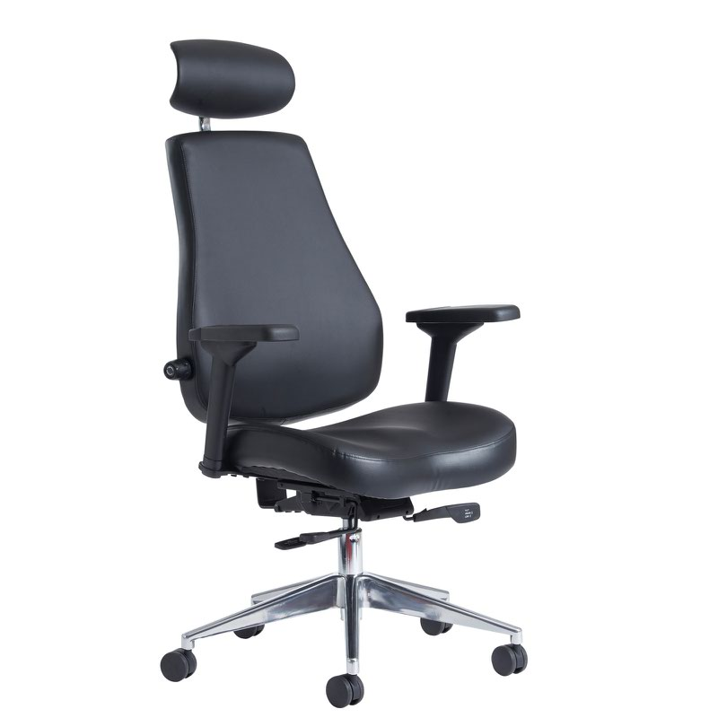 Franklin high back 24 hour task chair black fice Monster