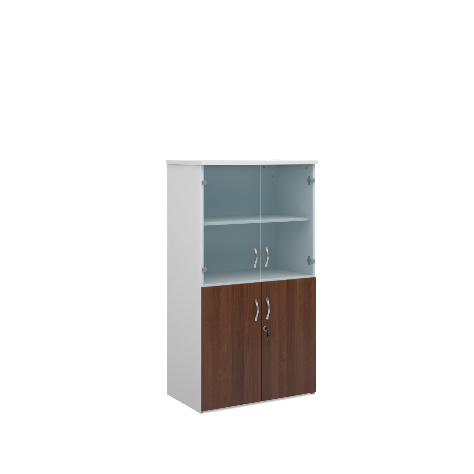 Universal Combination Unit With Glass Upper Doors 1440mm