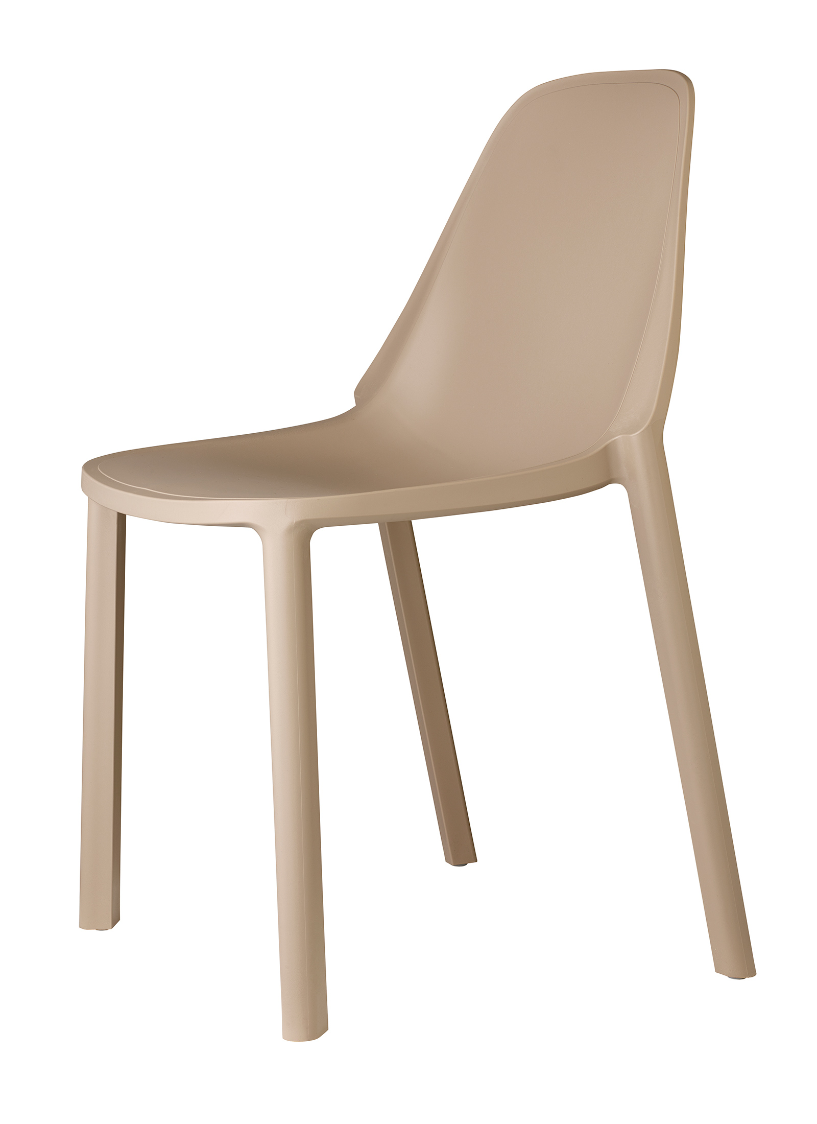 remix plastic stackable cafe chair cream no 1 in cumbria for