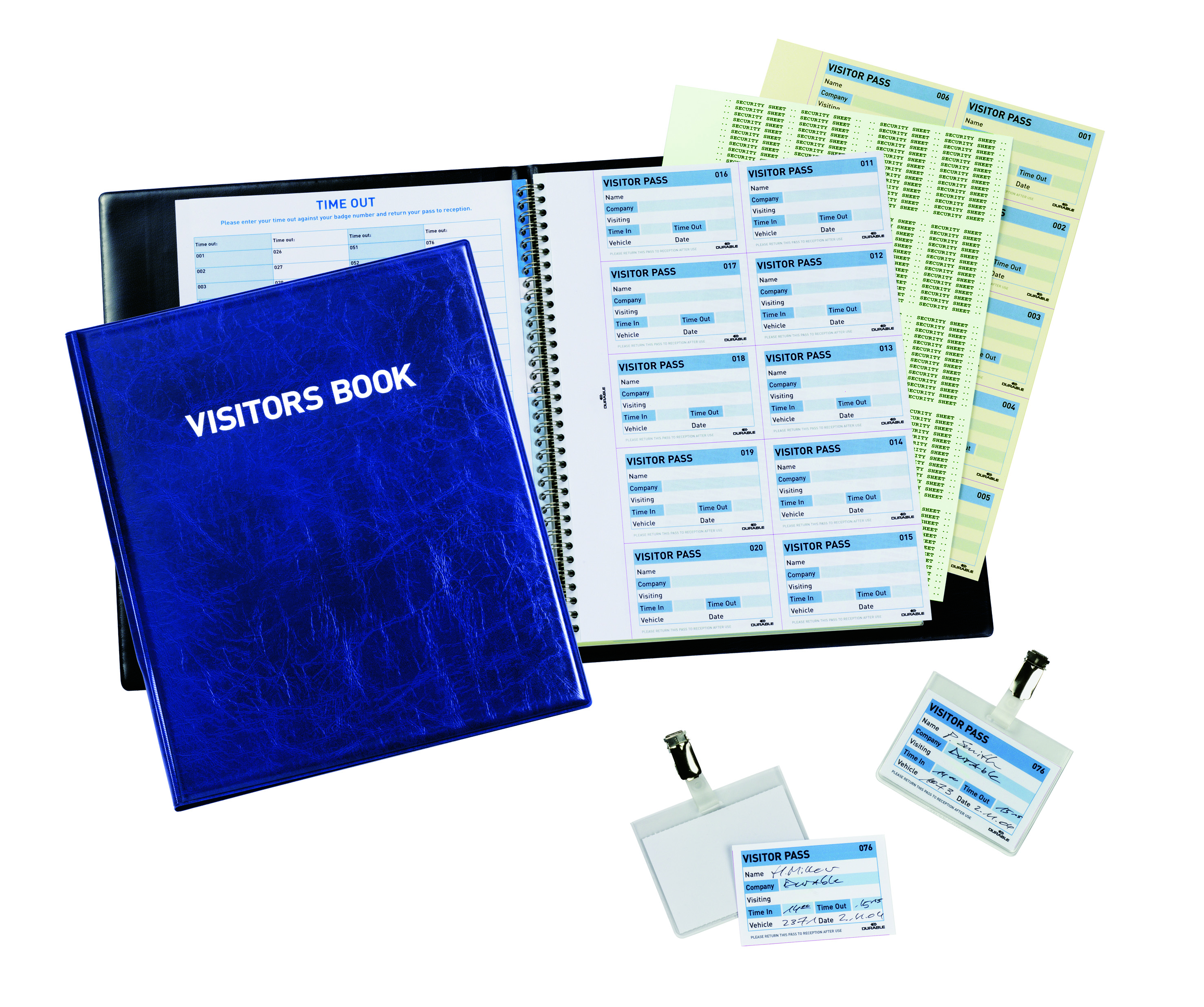 Durable Visitors Book For 100 Inserts 1463 00