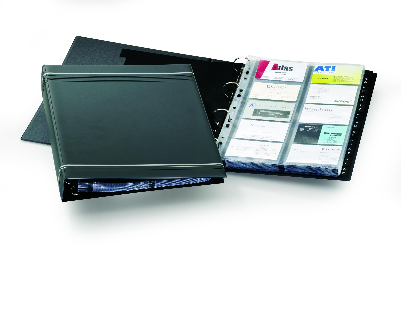 Durable Visifix A4 Business Card Album Charcoal 2388/58 - Stakelum ...