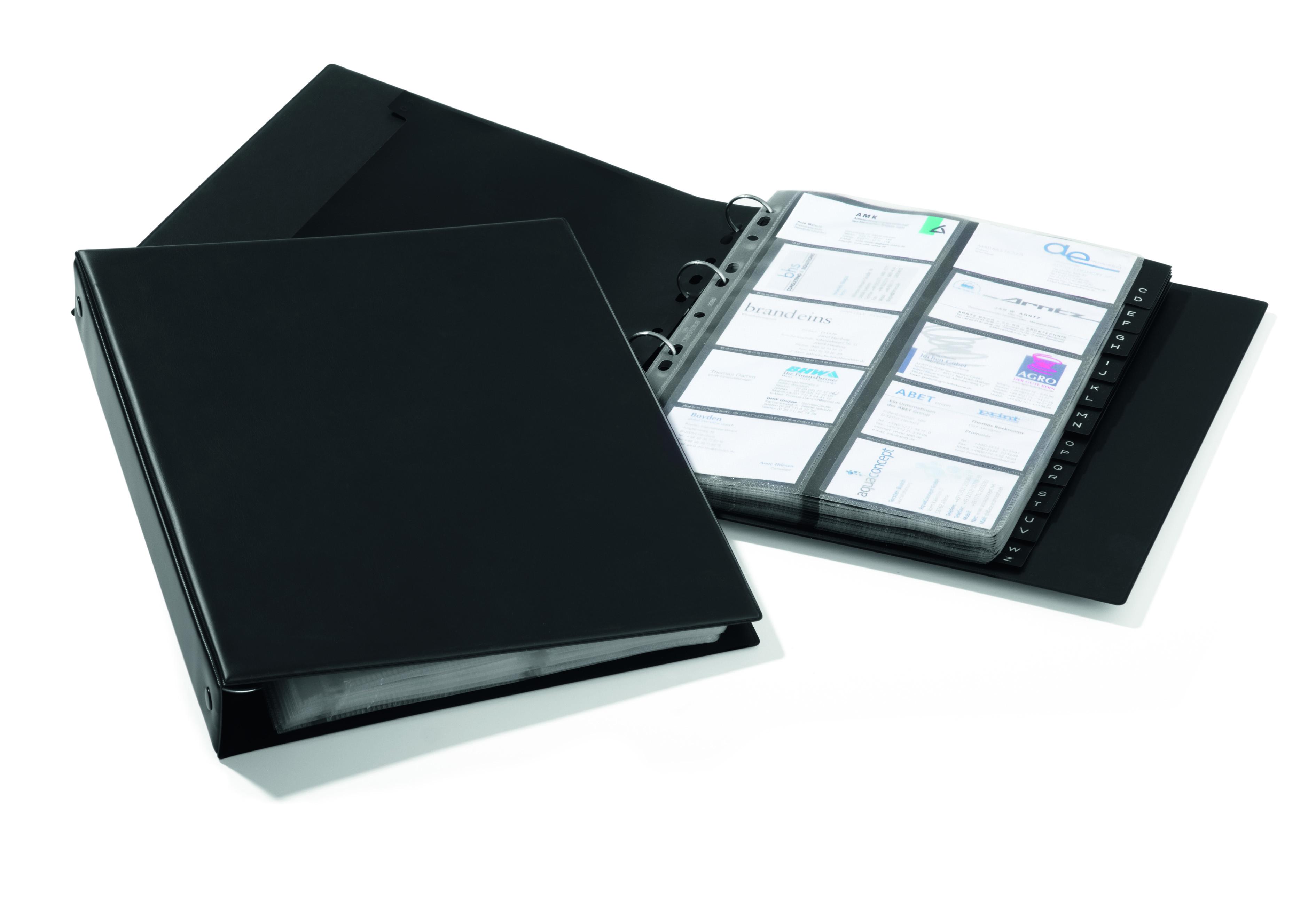 Durable Visifix A4 Eco Business Card Album 2444/01 - Stakelum Office ...