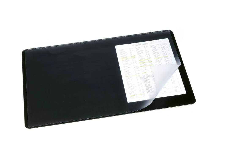 Durable black desk mat with transparent overlay 400x530mm 720201 durable black desk mat with transparent overlay 400x530mm 720201 gumiabroncs Choice Image