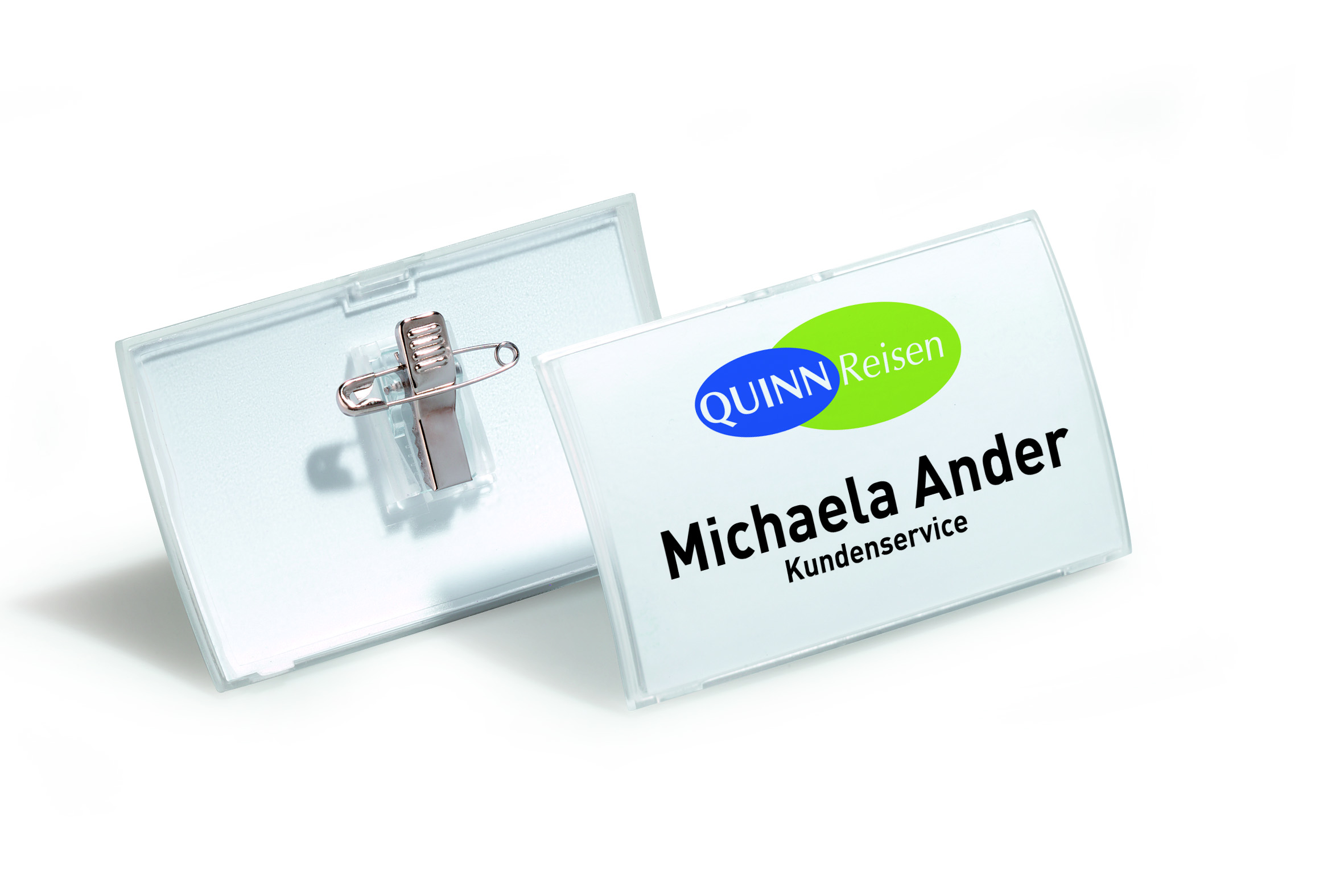 Compare retail prices of Durable 40x75mm Combi Clip Name Badge Pack of 25 821119 to get the best deal online