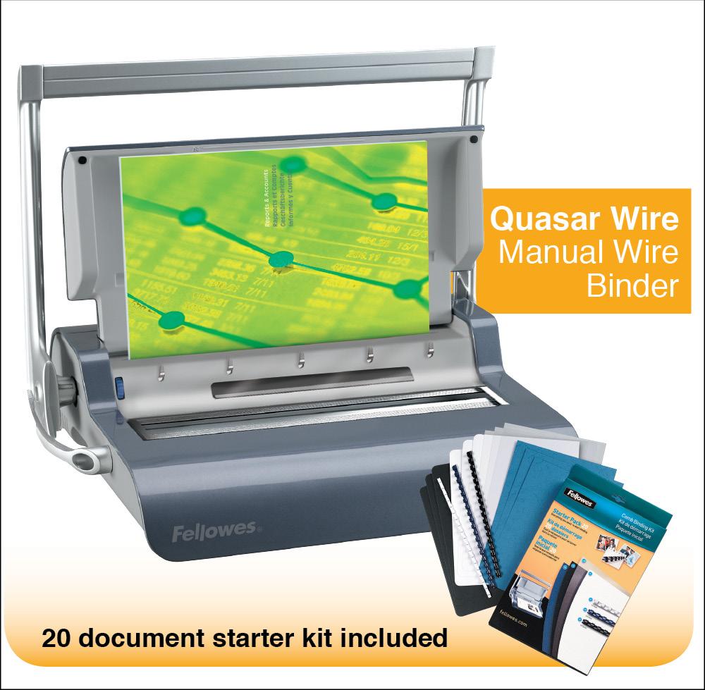 quasar wire binding machine