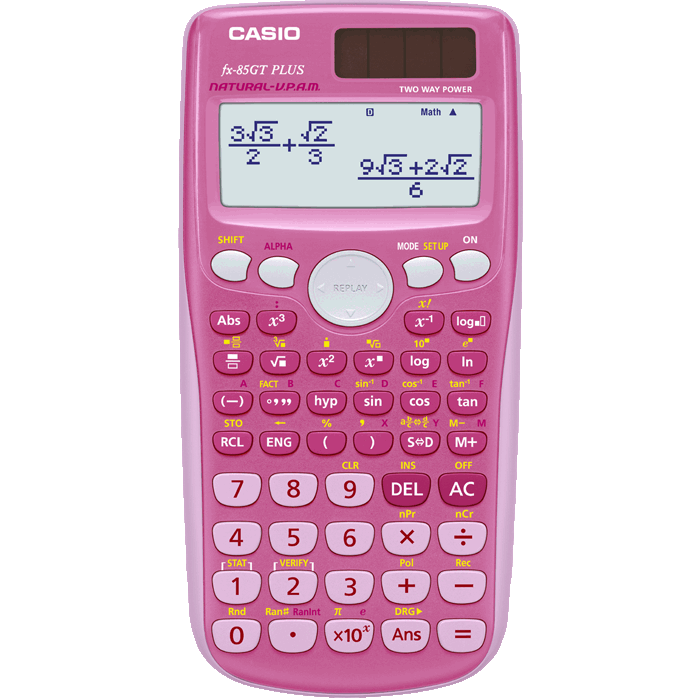 Changing calculator display modes math vs line mode (casio.