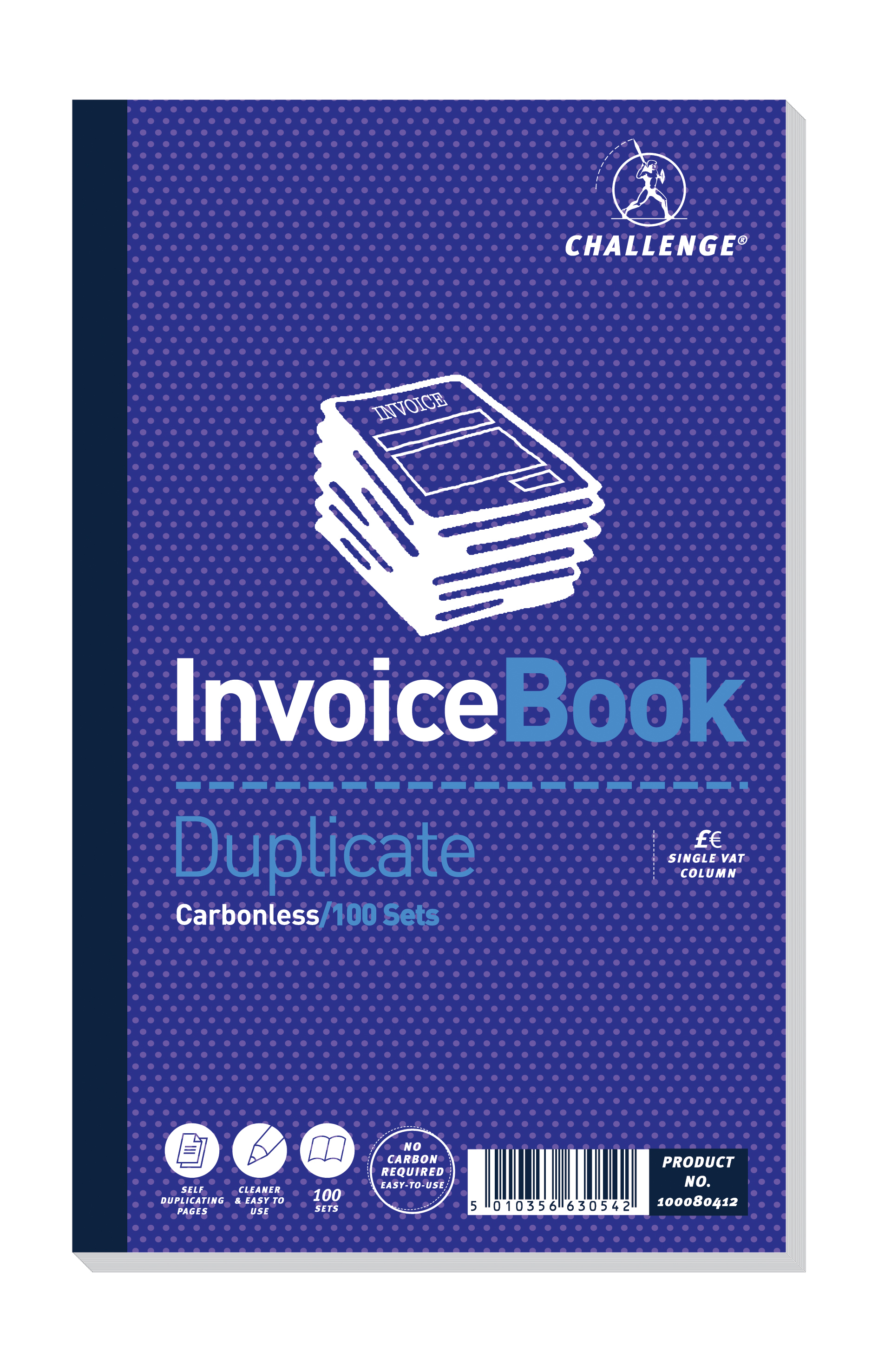 Challenge Duplicate Book Carbonless Invoice Single VATTax Sets - How to use an invoice book