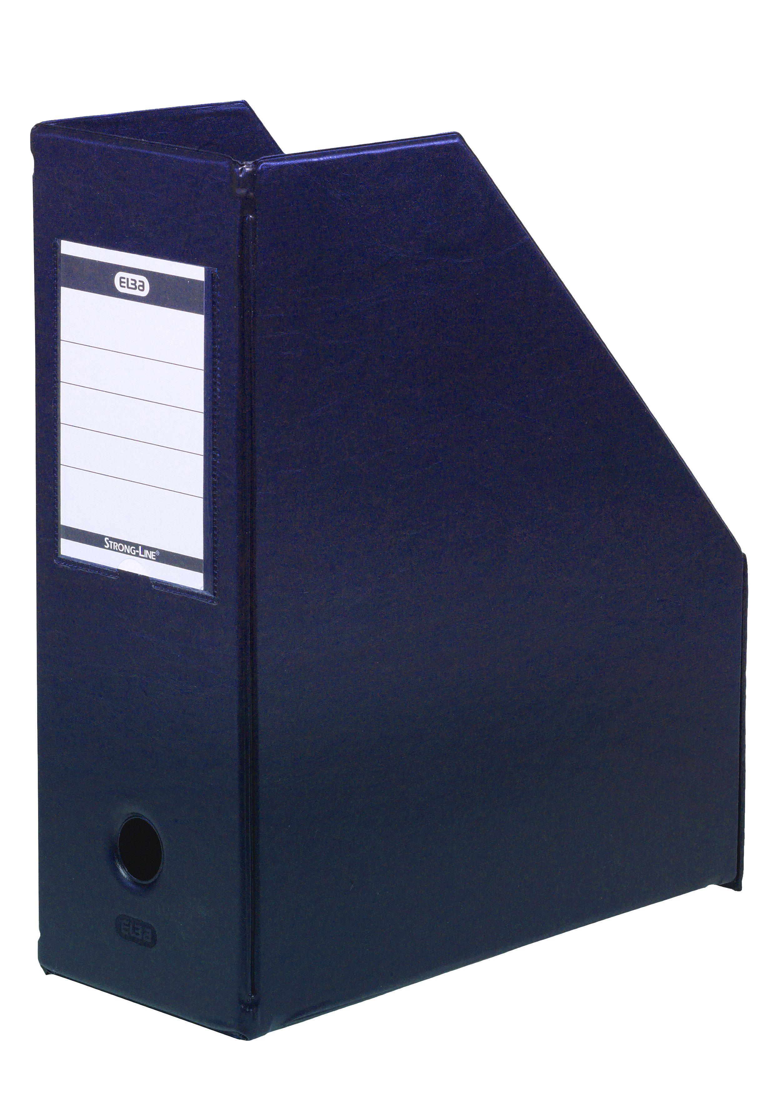 Elba A4 Jumbo Blue Magazine Rack Pack Of 5 400021866