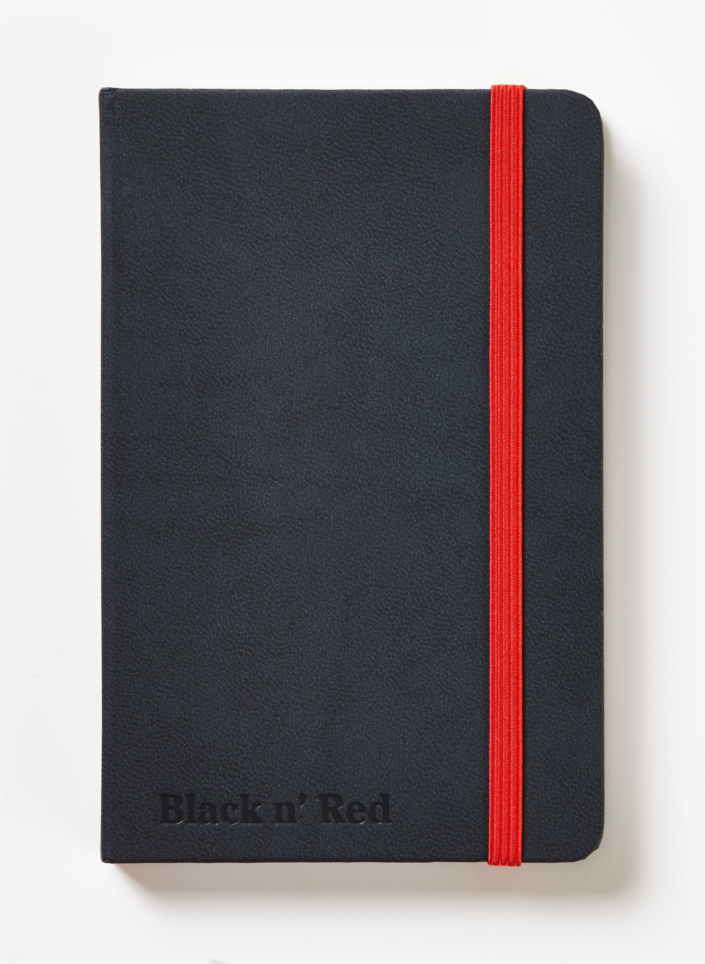 Book Cover Black Fusion : Black n red a casebound hardback journal notebook