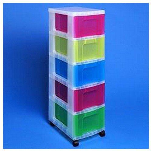really useful storage tower 5x12l drawers w300