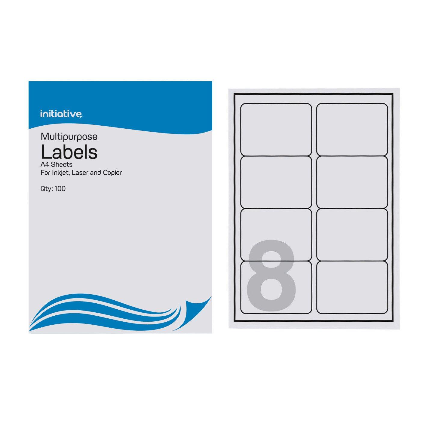 Initiative multipurpose labels 99 1 x 8 labels per for 99 1 x 67 7 mm label template