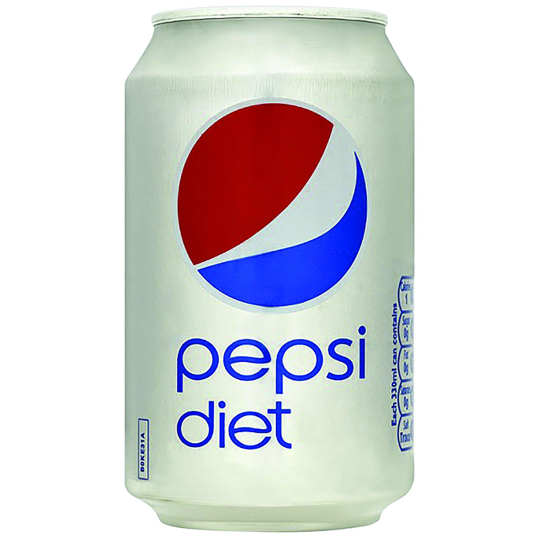 Pepsi Diet 330ml (24) - One Stop Office Supplies