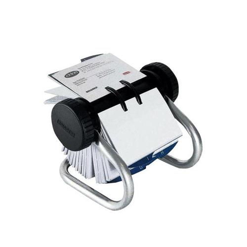 Rolodex Classic 200 Rotary Business Card Index File with 200