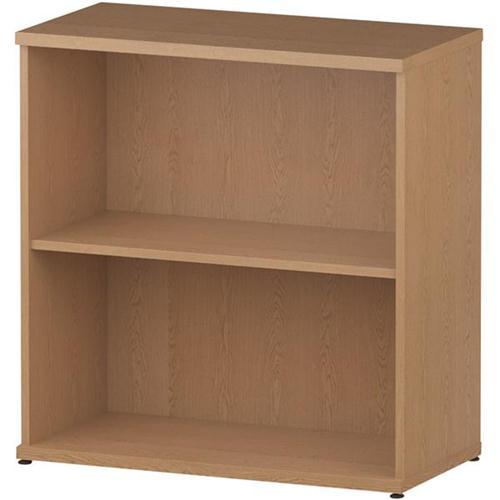 Trexus Office Bookcase 800mm 2 Shelves Oak