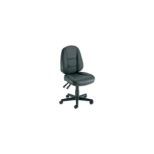 Trexus Intro Operators Chair PCB High Back H490mm Seat W490xD450xH440 560mm  Leather