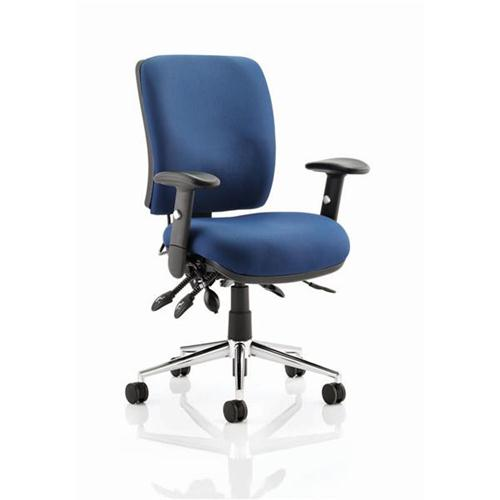 Sonix Operator Chair Height Adjustable Arms Flat Packed