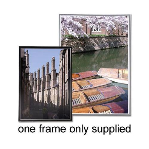Photo Frame with Styrene Front Silver A4 - Sigma | Stationery ...