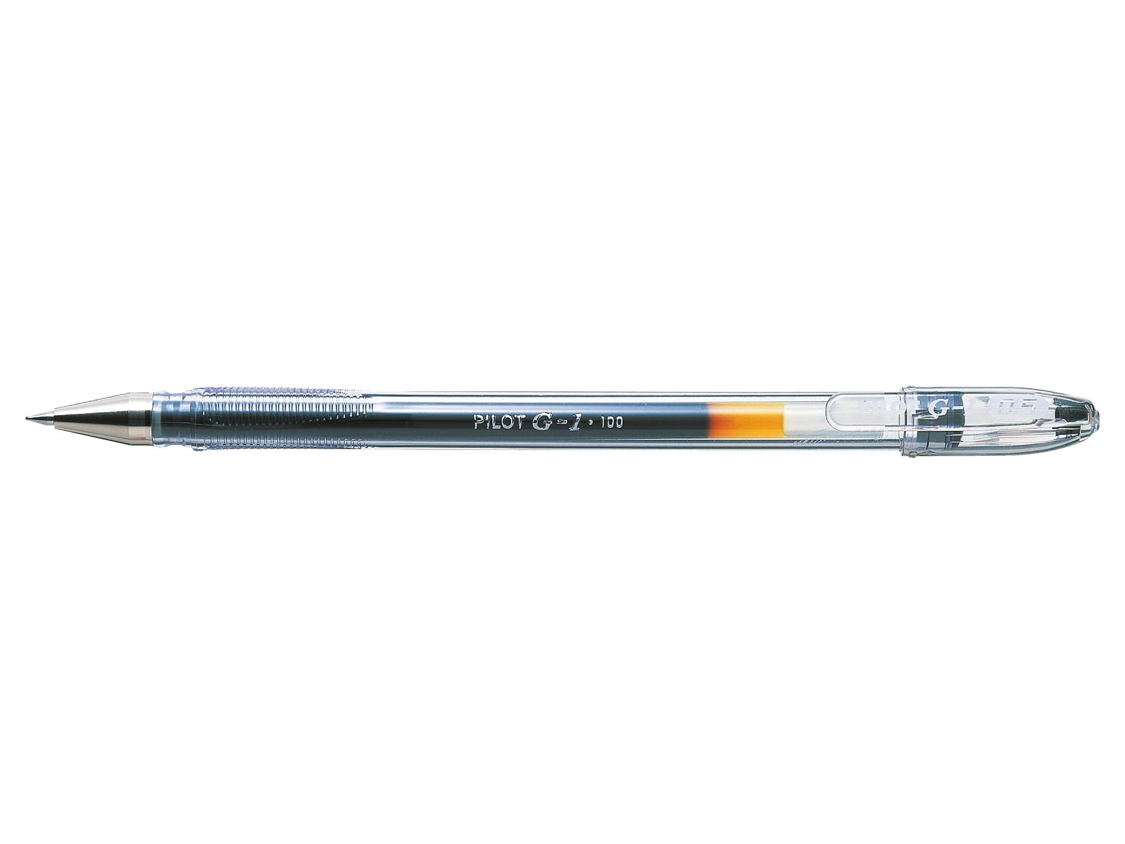 Box of 12 Pilot G-1 0.7 Gel Ink Rollerball  pens Black
