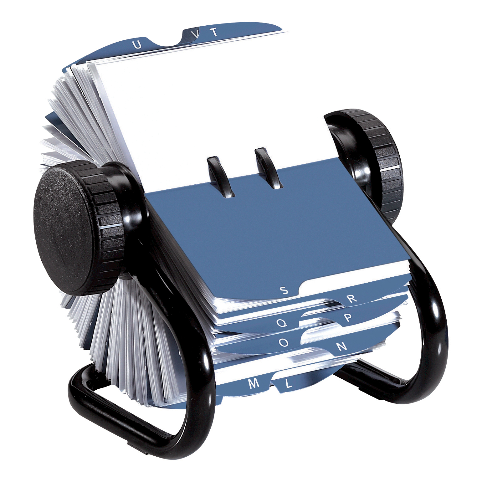 Rolodex Classic 200 Rotary Business Card Index File with 200 Sleeves ...