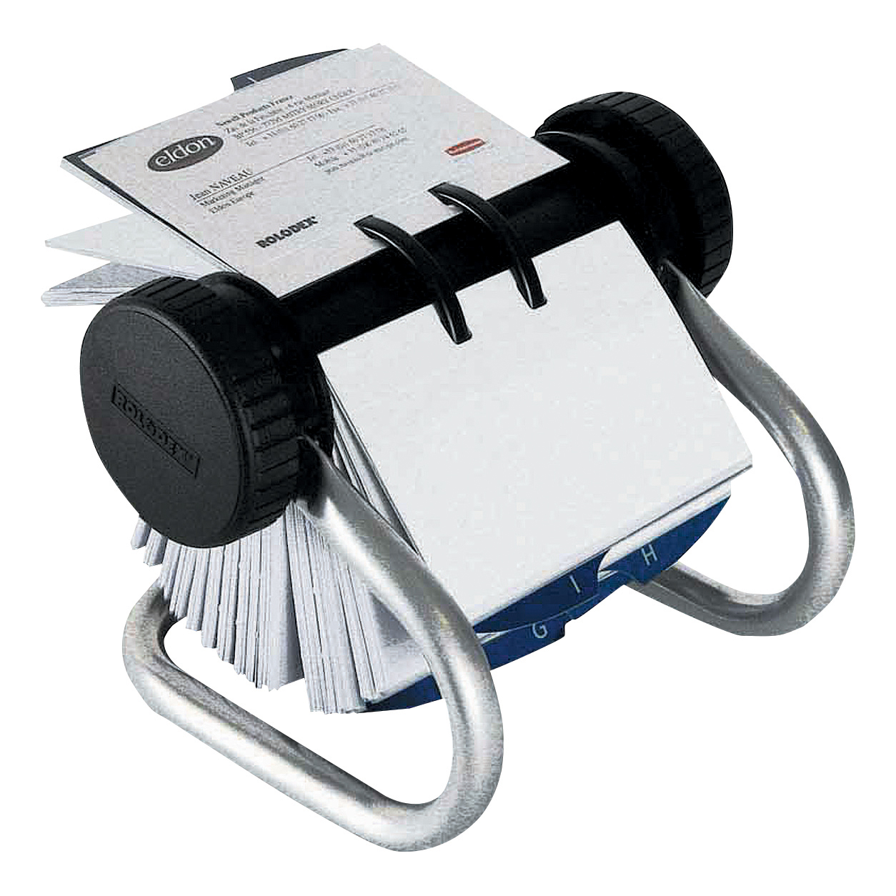 Rolodex classic 200 rotary business card index file with 200 sleeves rolodex classic 200 rotary business card index file with 200 sleeves 24 a z index tabs chrome ref 67237 colourmoves