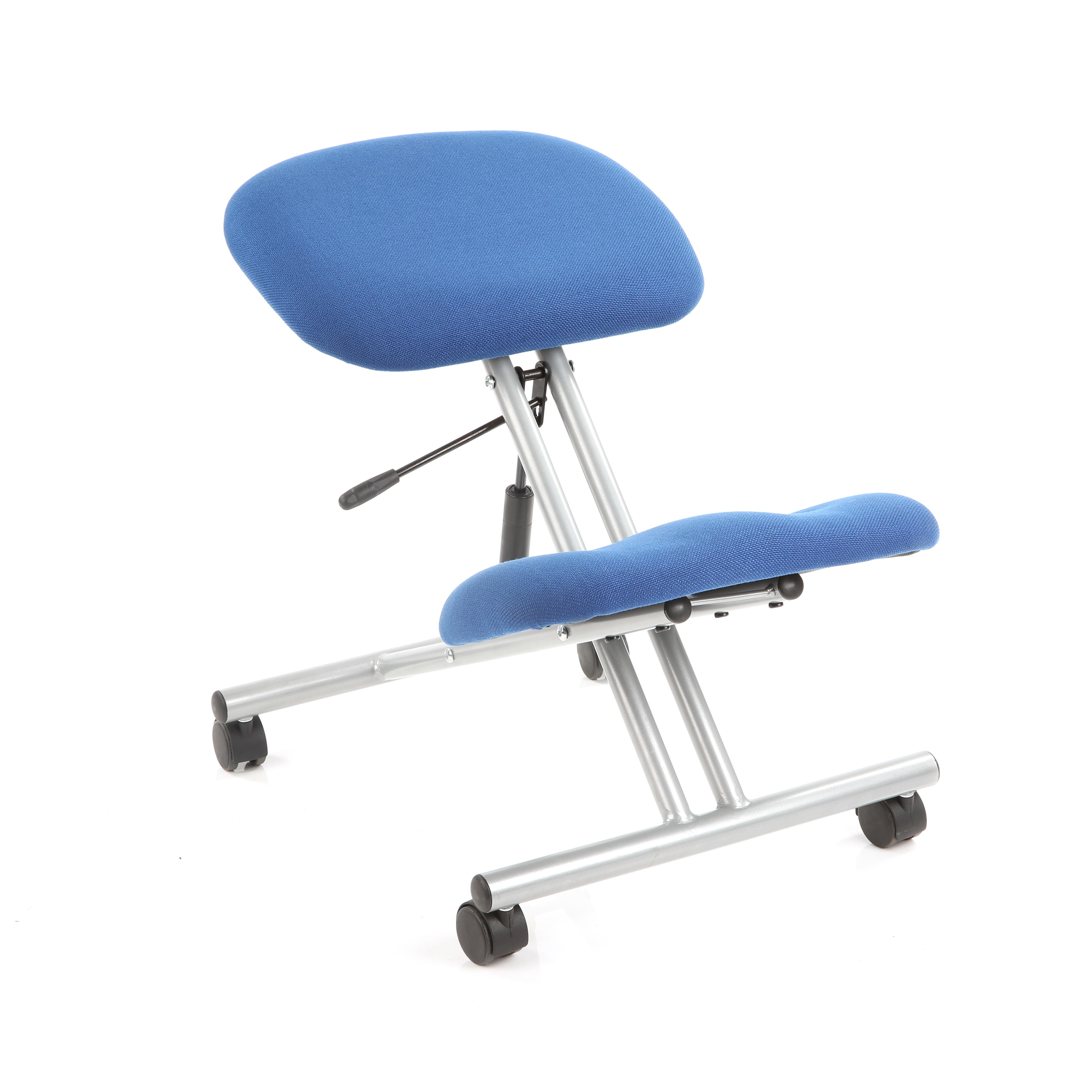 Trexus Kneeling Chair Blue 430x330x480-620mm Ref OP000071