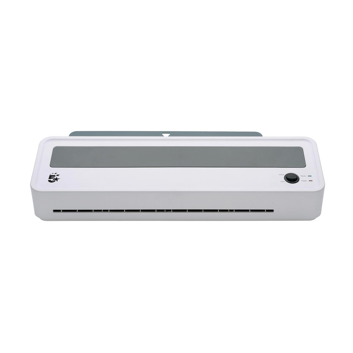 5 Star Office Hot And Cold A3 Laminator Up To 2x125micron Pouches