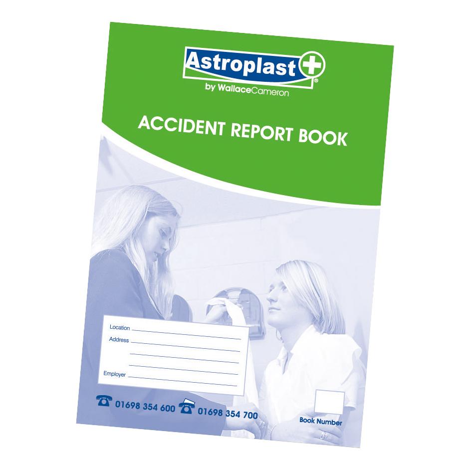 Astroplast Accident Report Book A5 Ref 5401009 - Pickwick Ltd