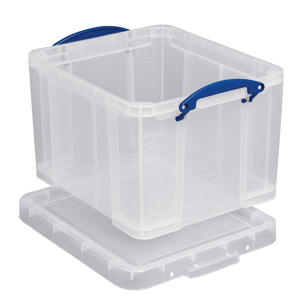 Really Useful Storage Box Plastic Lightweight Robust Stackable 35
