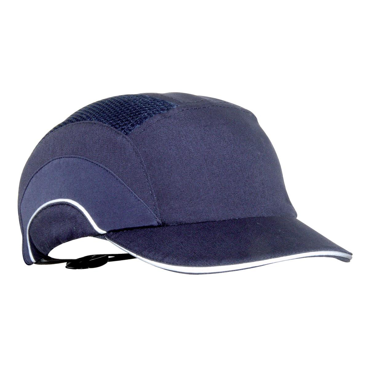 fb115ce62 JSP Hard Cap A1 Plus Ventilated Adjustable with Short Peak 50mm Navy ...