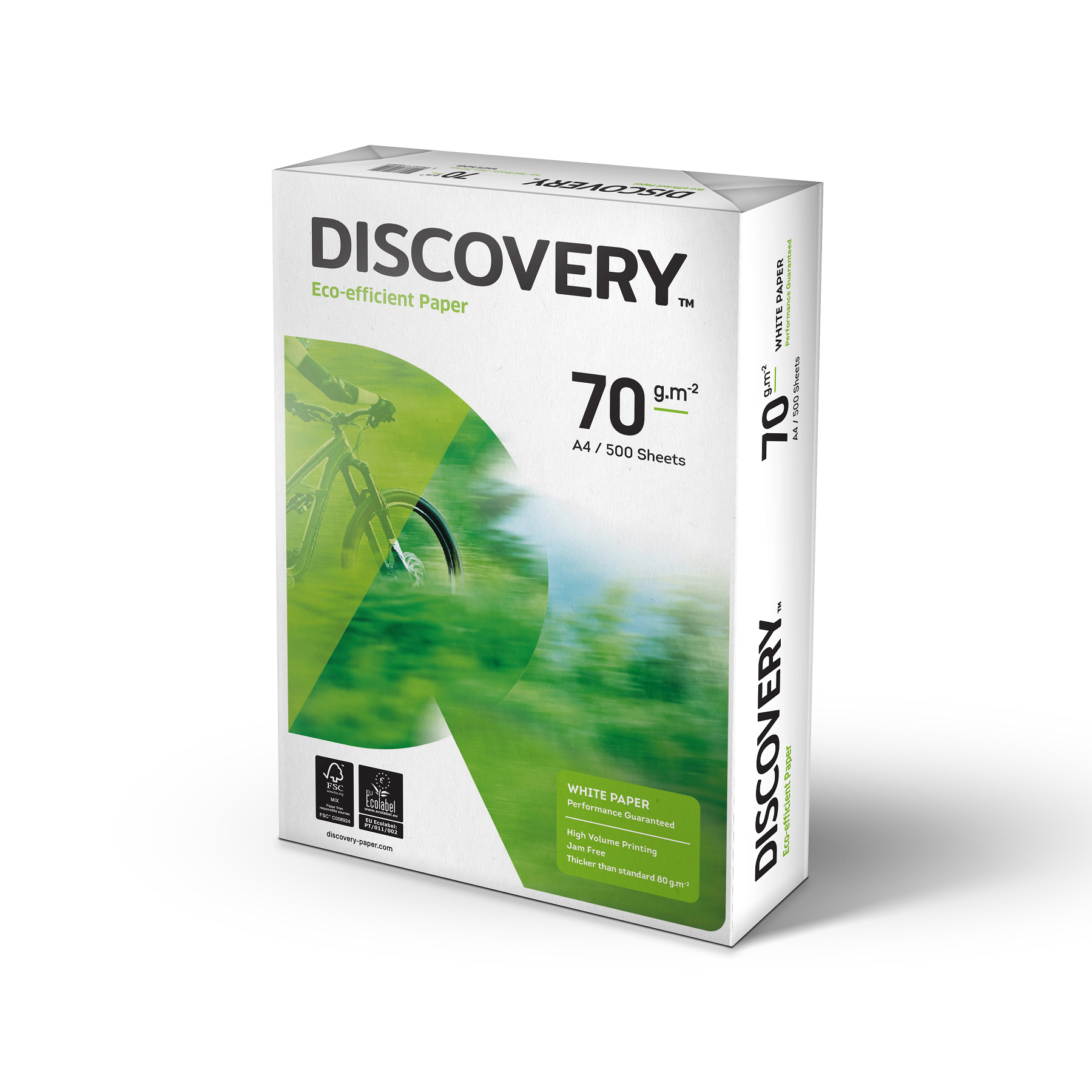 Discovery Everyday Paper Ream Wred A4 70gsm White Ref Ndi0700025 5 X 500 Sheets