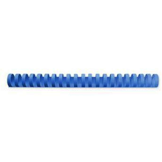 12mm Plastic Binding Combs BLUE 20 or 21 ring Box of 100