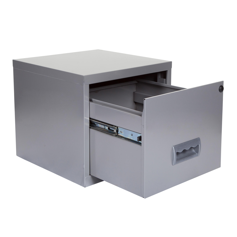 Filing Cabinet Steel 1 Drawer A4 400x400x370mm Ref 599000