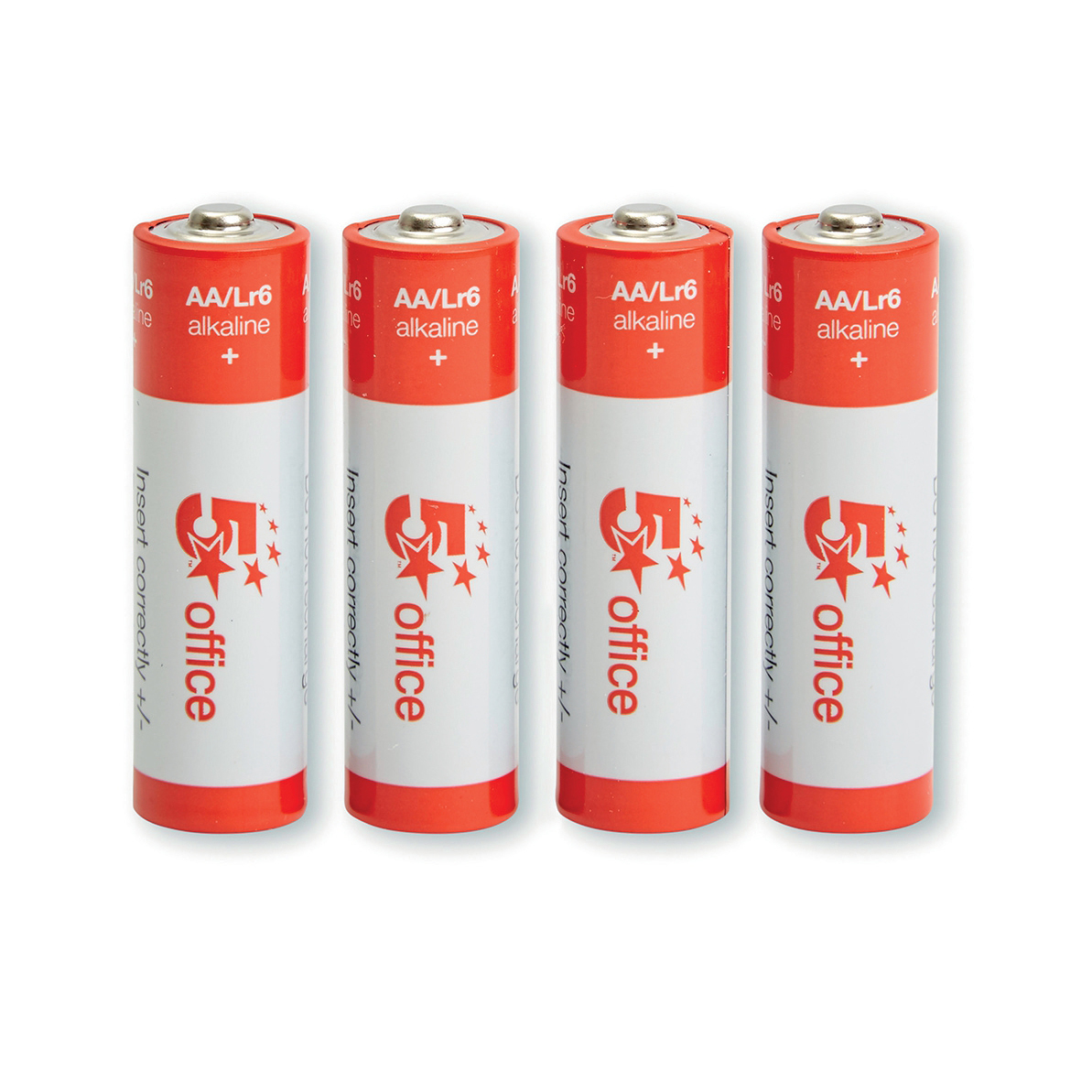 5 Star Office Batteries Aa Pack 4