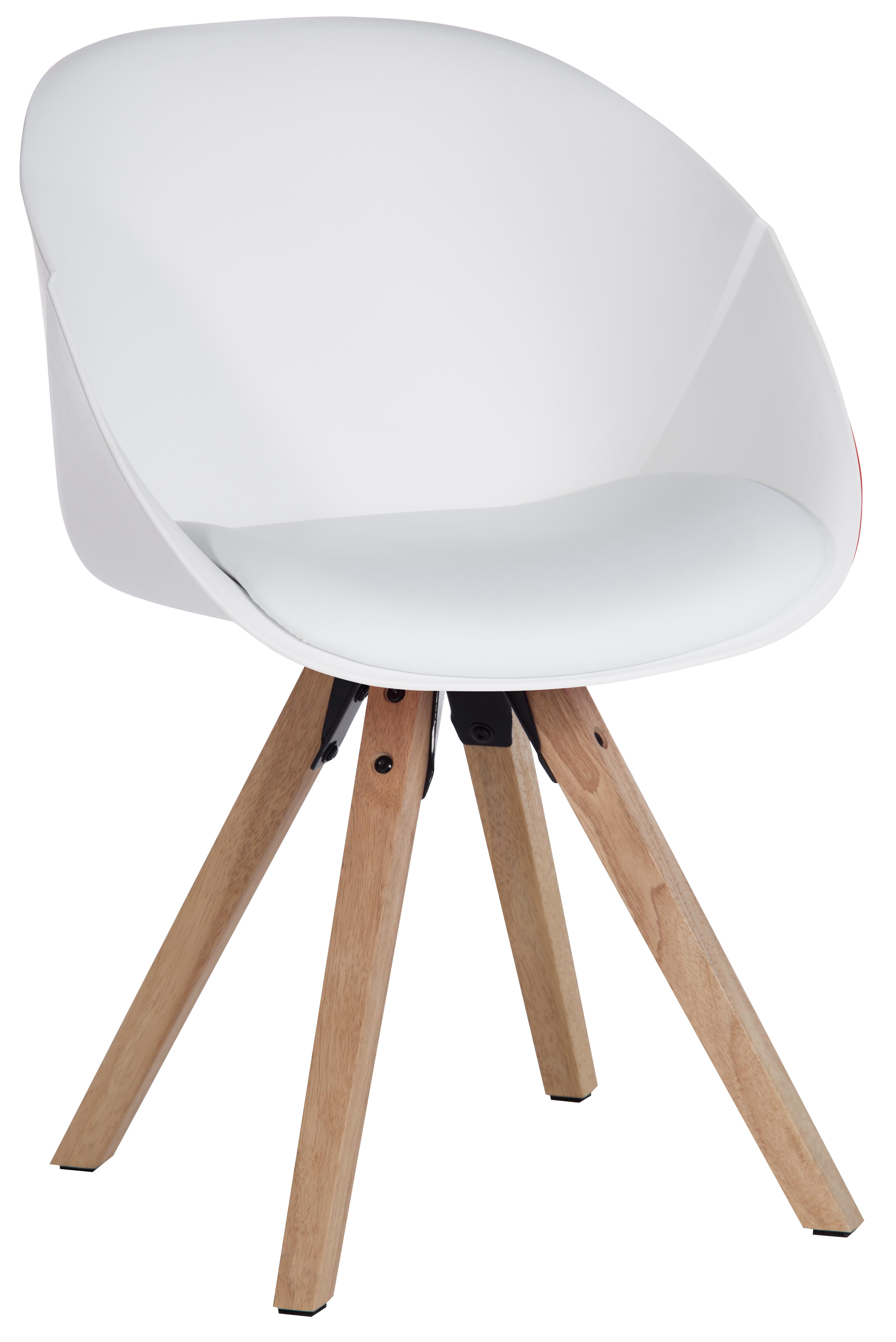 Teknik Office White Pyramid Padded Tub Chair Soft Polyurethane and ...