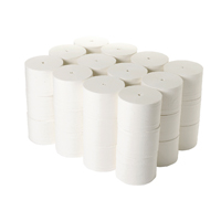 Compare retail prices of 2Work Coreless Toilet Rolls 95mmx96m 800 Sheets White Pack of 36 TWH to get the best deal online