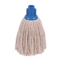 Compare retail prices of 2Work 12oz Twine Rough Socket Mop Blue Pack of 10 PJTB1210I to get the best deal online